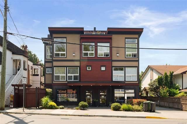 1827 Fairfield Rd #1, Victoria, BC V8S 1G9 (MLS #883102) :: Pinnacle Homes Group
