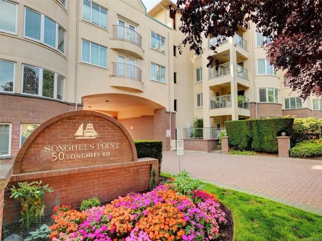 50 Songhees Rd #518, Victoria, BC V9A 7J4 (MLS #885123) :: Call Victoria Home