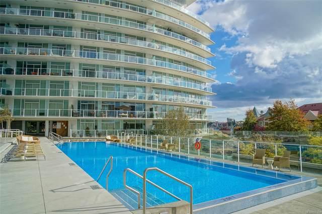 68 Songhees Rd #318, Victoria, BC V9A 0A3 (MLS #886313) :: Call Victoria Home