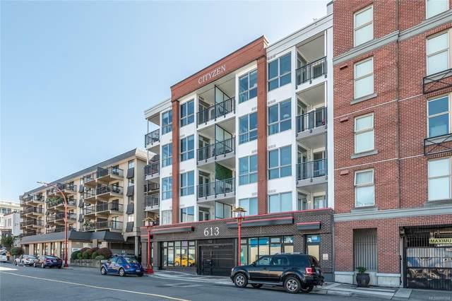 613 Herald St #301, Victoria, BC V8X 1S8 (MLS #886364) :: Pinnacle Homes Group