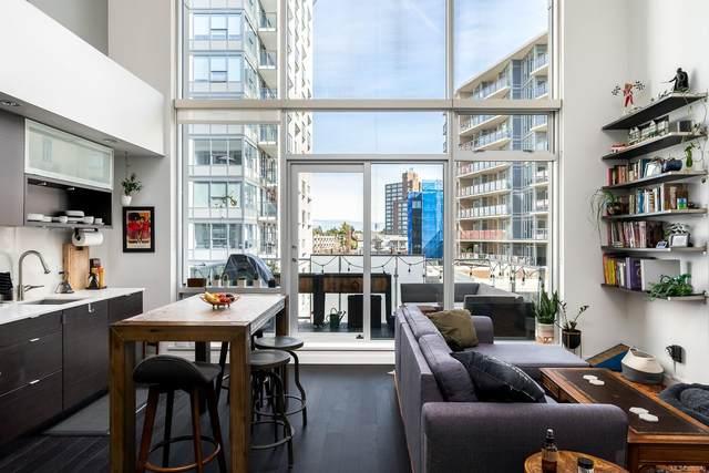 770 Fisgard St #439, Victoria, BC V8W 0B8 (MLS #886610) :: Pinnacle Homes Group