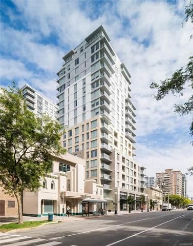 848 Yates St #603, Victoria, BC V8W 0G2 (MLS #886797) :: Pinnacle Homes Group