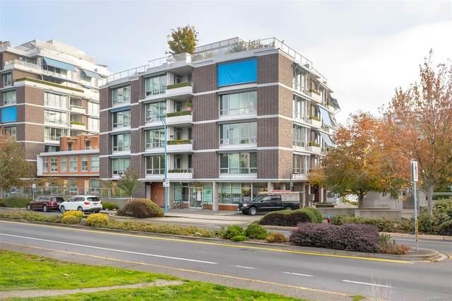 391 Tyee Rd #205, Victoria, BC V9A 0A9 (MLS #887271) :: Pinnacle Homes Group