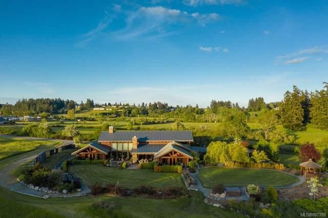 1563 Mt. Newton Cross Rd, Central Saanich, BC V8M 1L1 (MLS #887789) :: Pinnacle Homes Group