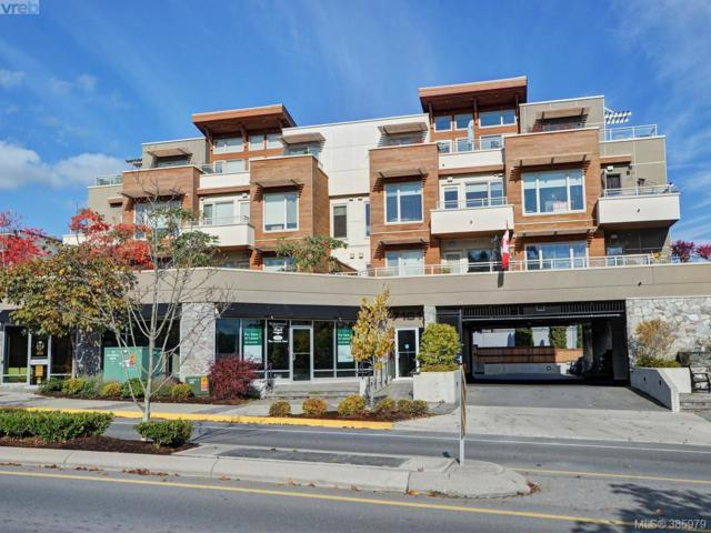 7161 West Saanich Rd #404, Central Saanich, BC V8M 1P7 (MLS #385979) :: Day Team Realtors