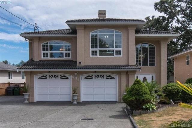 871 Beckwith Ave, Victoria, BC V8X 3S2 (MLS #395450) :: Day Team Realtors