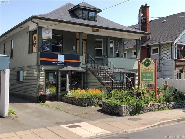 2553 Quadra St, Victoria, BC V8T 4E1 (MLS #420360) :: Day Team Realty