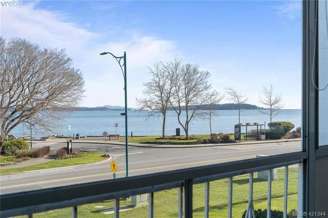 9560 Fifth St #202, Sidney, BC V8L 2W5 (MLS #421344) :: Day Team Realty