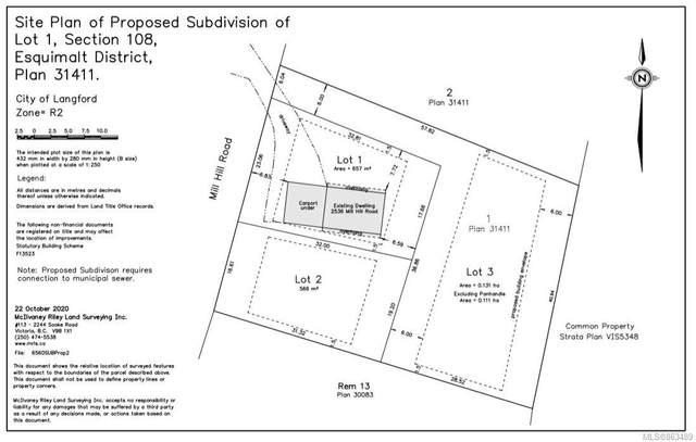 2536 Mill Hill Rd, Langford, BC V9B 4X7 (MLS #863489) :: Pinnacle Homes Group