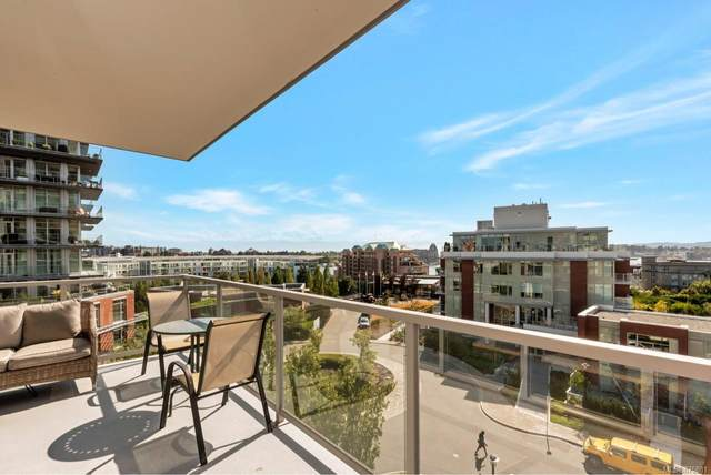 83 Saghalie Rd #502, Victoria, BC V9A 0B8 (MLS #875881) :: Pinnacle Homes Group