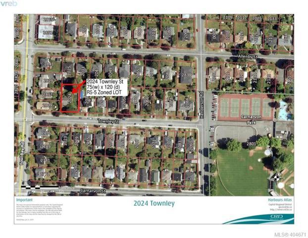 2024 Townley St, Victoria, BC V8R 3B4 (MLS #404671) :: Day Team Realtors