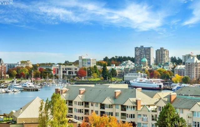 100 Saghalie Rd #509, Victoria, BC V9A 0A1 (MLS #413641) :: Live Victoria BC