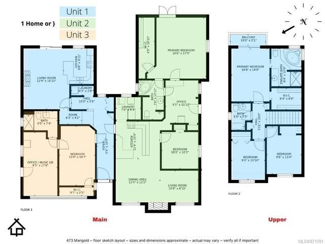 473 Marigold Rd, Saanich, BC V8Z 4R3 (MLS #871781) :: Call Victoria Home