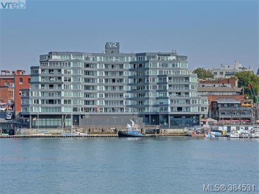 1234 Wharf St #104, Victoria, BC V8W 3H9 (MLS #384531) :: Day Team Realtors