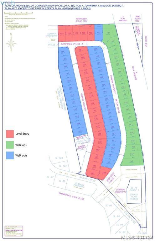 1051 Shawnigan Lake Rd Lot 126, Malahat & Area, BC V0R 2W3 (MLS #401724) :: Day Team Realtors