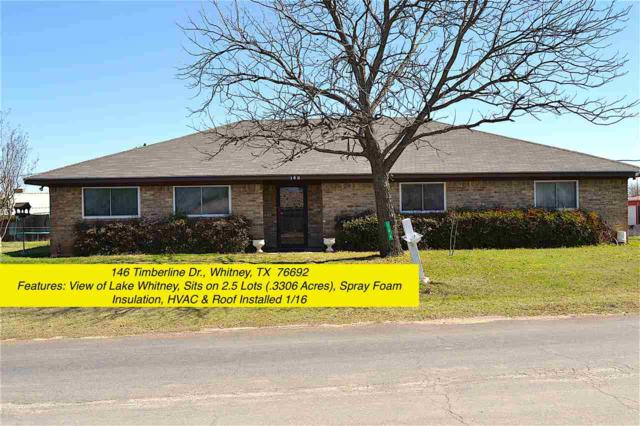146 Timberline, Whitney, TX 76692 (MLS #173947) :: Magnolia Realty