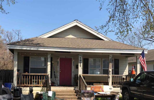 1922 S 10TH, Waco, TX 76706 (MLS #174019) :: A.G. Real Estate & Associates