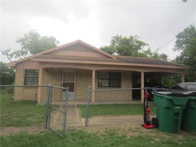 708 W Ave E Avenue, Rosebud, TX 76570 (MLS #180585) :: Magnolia Realty
