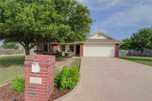 613 Sapphire Boulevard, Hewitt, TX 76643 (MLS #189694) :: Magnolia Realty