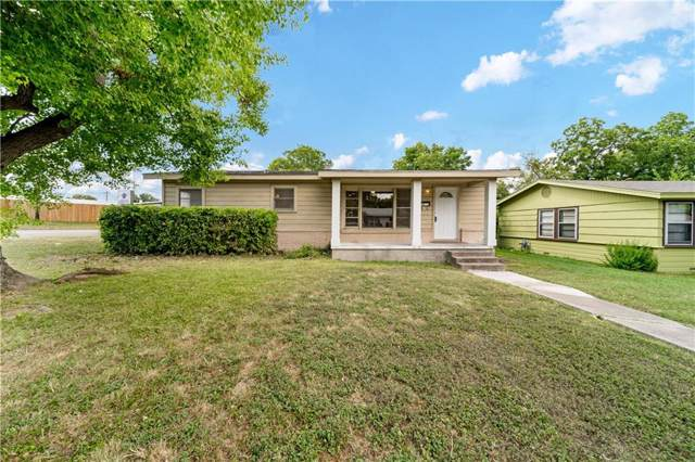 4613 Athens Avenue, Waco, TX 76710 (MLS #191038) :: A.G. Real Estate & Associates