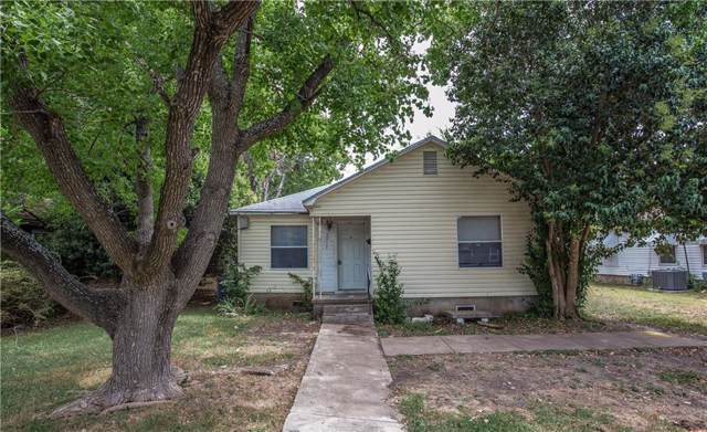 3417 N 23rd Street, Waco, TX 76708 (MLS #191119) :: A.G. Real Estate & Associates