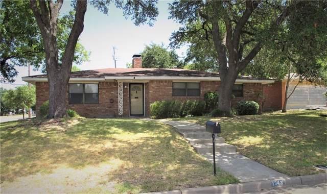 1343 La Porte Street, Waco, TX 76710 (MLS #191236) :: A.G. Real Estate & Associates