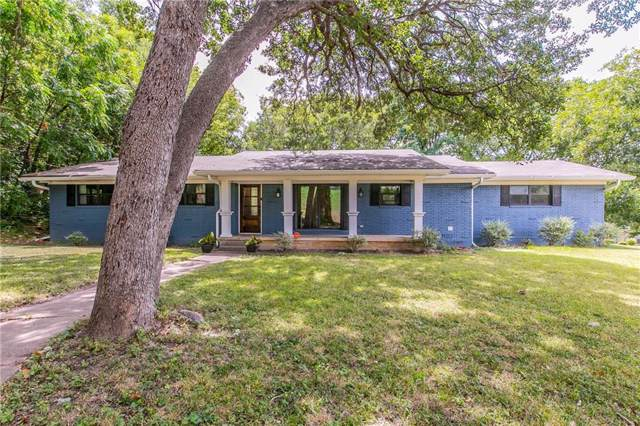 1040 Wedgewood Drive, Woodway, TX 76712 (MLS #191352) :: The i35 Group