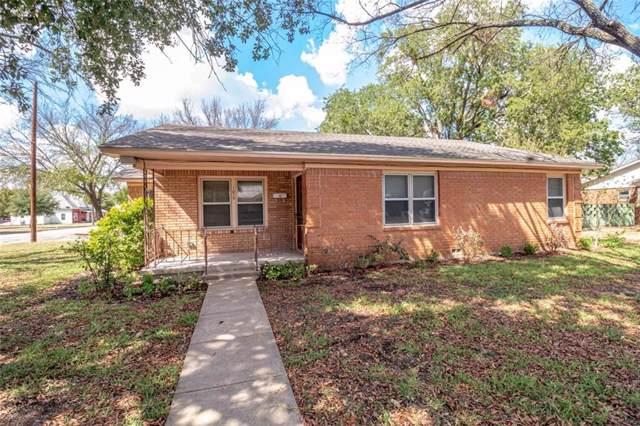 1015 W 4th Street, Mcgregor, TX 76657 (MLS #192022) :: A.G. Real Estate & Associates