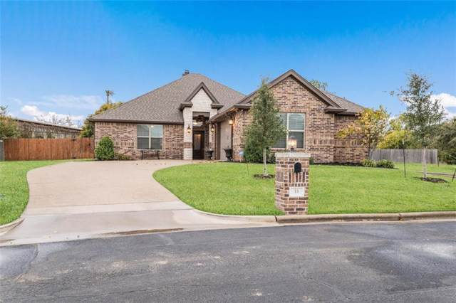 33 North Shore Circle, Waco, TX 76708 (MLS #192666) :: A.G. Real Estate & Associates