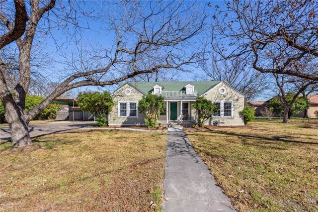 107 Cleveland Street, Meridian, TX 76665 (MLS #192936) :: A.G. Real Estate & Associates