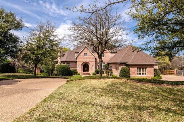 811 Forest Oaks Circle, Woodway, TX 76712 (MLS #194609) :: A.G. Real Estate & Associates
