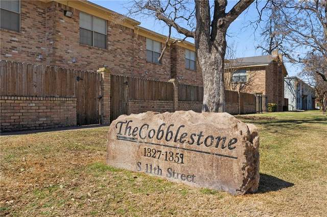 1329 S 11th Street A11, Waco, TX 76706 (MLS #199804) :: A.G. Real Estate & Associates