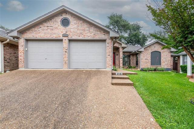 216 Shady Pl Drive, Waco, TX 76712 (#201041) :: Homes By Lainie Real Estate Group