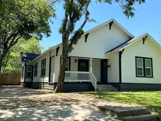 2106 Parrott Avenue, Waco, TX 76707 (MLS #201782) :: Vista Real Estate