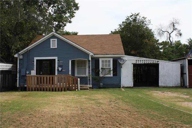 1105 Maxfield Street, Waco, TX 76705 (MLS #203463) :: NextHome Our Town