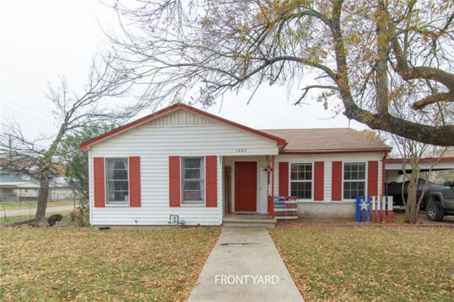1404 Ave E, Moody, TX 76557 (MLS #186769) :: The i35 Group