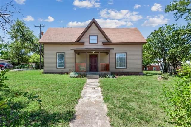 206 S Cleveland, Meridian, TX 76665 (MLS #194427) :: A.G. Real Estate & Associates