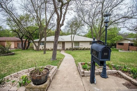 500 White Oak Dr, Woodway, TX 76712 (MLS #174738) :: Magnolia Realty