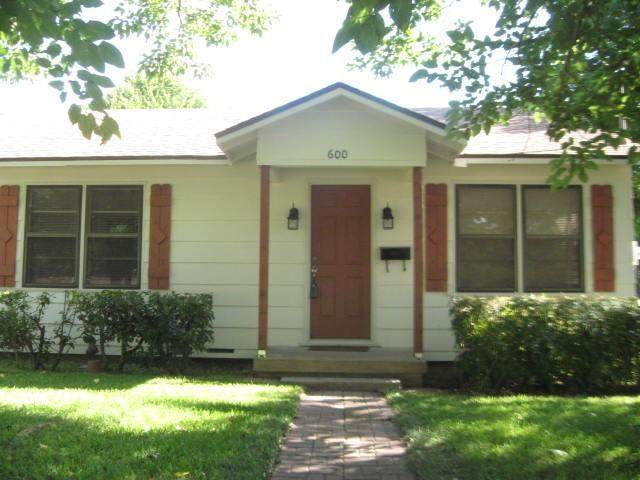 600 W Shook Street, West, TX 76691 (MLS #196097) :: A.G. Real Estate & Associates