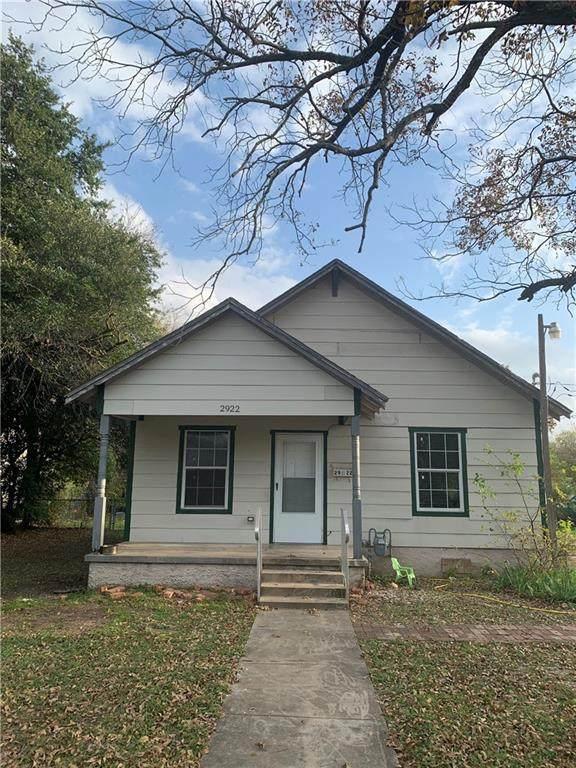 2922 Mcferrin Avenue, Waco, TX 76708 (MLS #198604) :: A.G. Real Estate & Associates