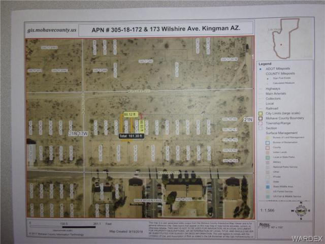 Lot #13 & 14 Wilshire Ave., Kingman, AZ 86401 (MLS #952250) :: The Lander Team