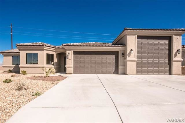 2549 E Halycone, Mohave Valley, AZ 86440 (MLS #952571) :: The Lander Team