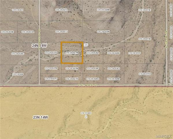 0000 N Randolph Road, Kingman, AZ 86401 (MLS #952718) :: The Lander Team