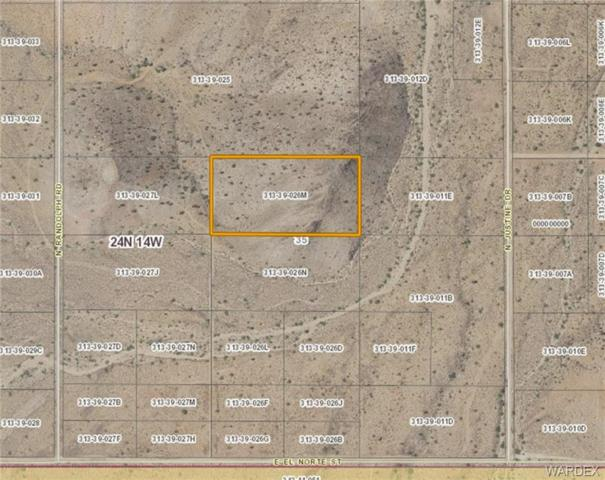 0000 N Justine Drive, Kingman, AZ 86401 (MLS #952720) :: The Lander Team