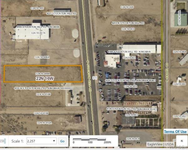 4175 Stockton Hill Rd., Kingman, AZ 86409 (MLS #952756) :: The Lander Team