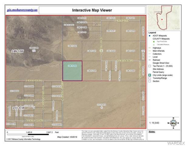 39.94 Acres E Calle Valdez, Kingman, AZ 86409 (MLS #954703) :: The Lander Team