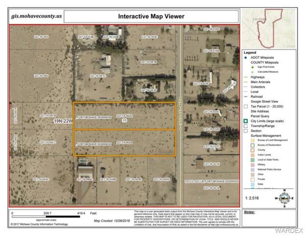 5461 Calle De Media, Fort Mohave, AZ 86426 (MLS #954708) :: The Lander Team