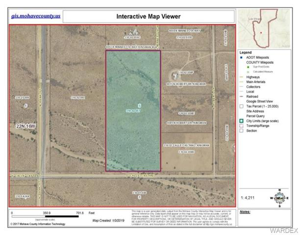 16.55 Acres E Calle Castano, Kingman, AZ 86409 (MLS #954710) :: The Lander Team
