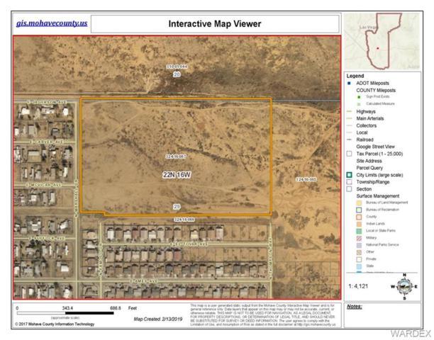 25.26 Acres N Marshall Dr, Kingman, AZ 86409 (MLS #955795) :: The Lander Team