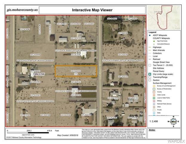 5331 S Jack Rabbit Drive, Fort Mohave, AZ 86426 (MLS #956637) :: The Lander Team